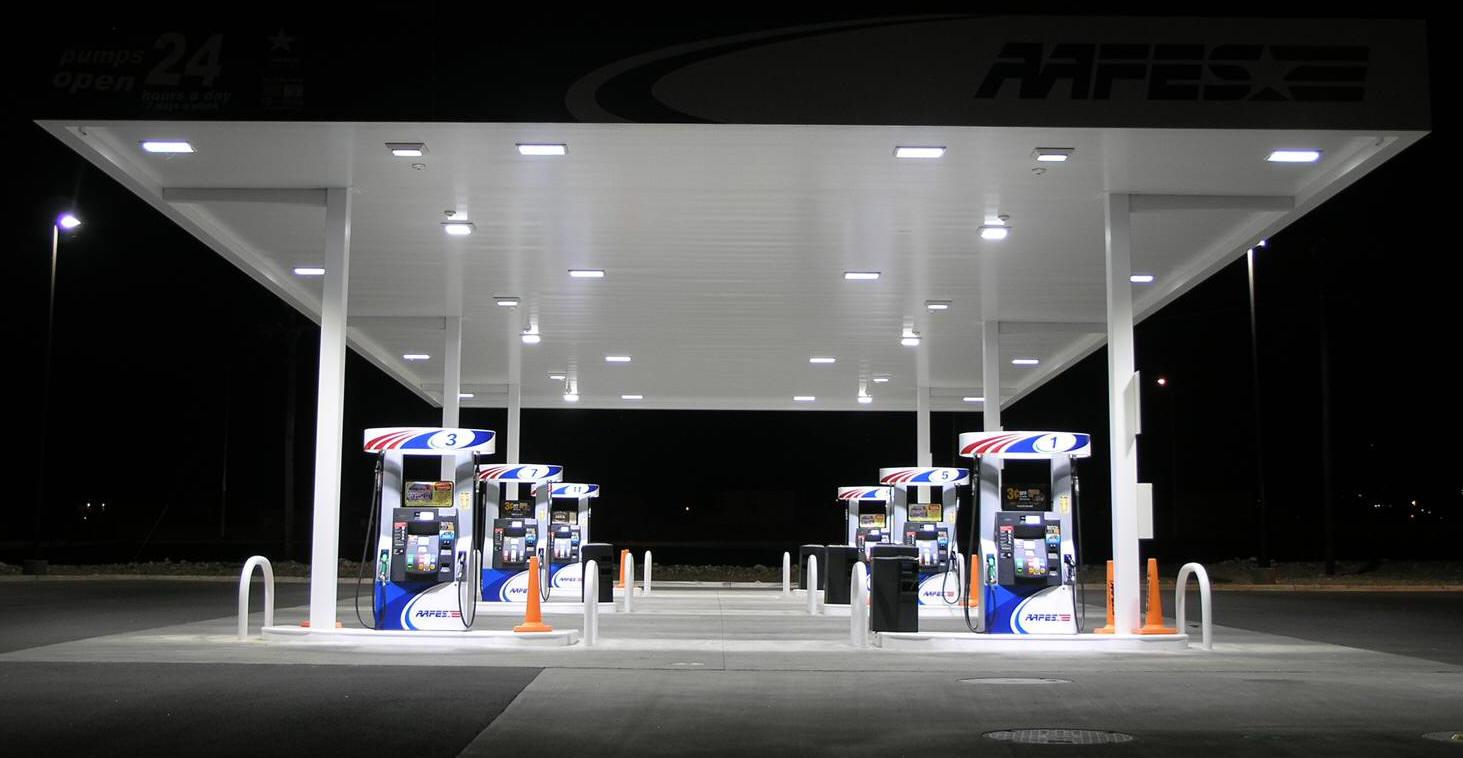 Petroleum Station Services Canopy Equipment High Reach